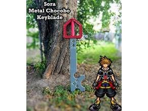 Metal Chocobo Keyblade - Kingdom Hearts