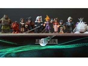 Final Fantasy VII all characters