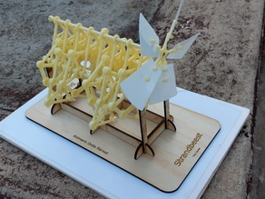 Strandbeest kit stand - 3mm ply laser cut