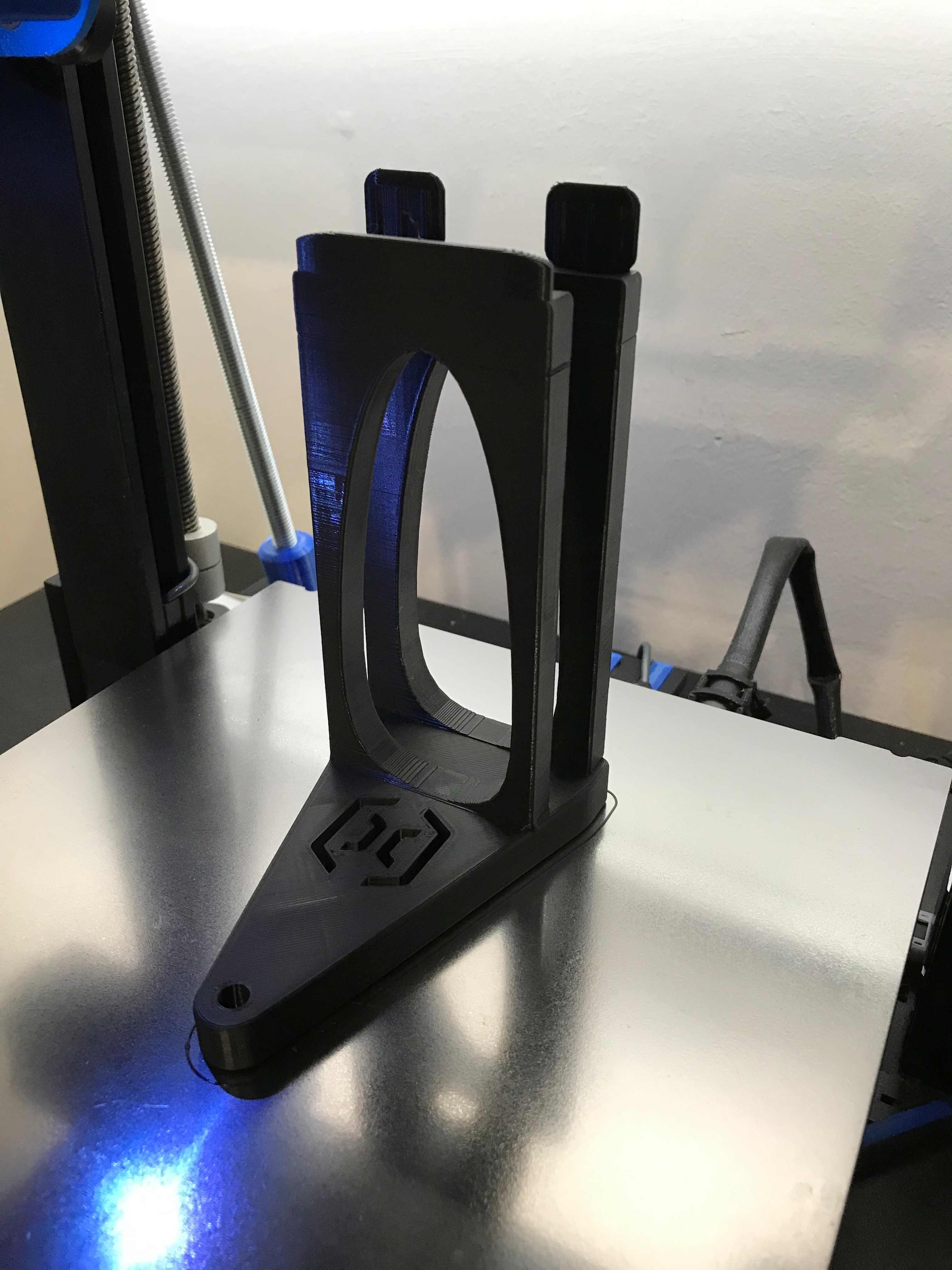 Plato central soporte suplementado para sensor de filamento para ARTILLERY GENIUS