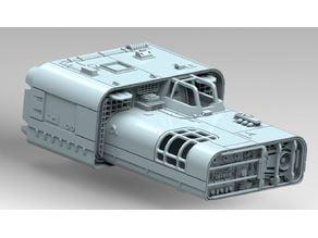 A4B Truckspeeder Star Wars Legion Scale