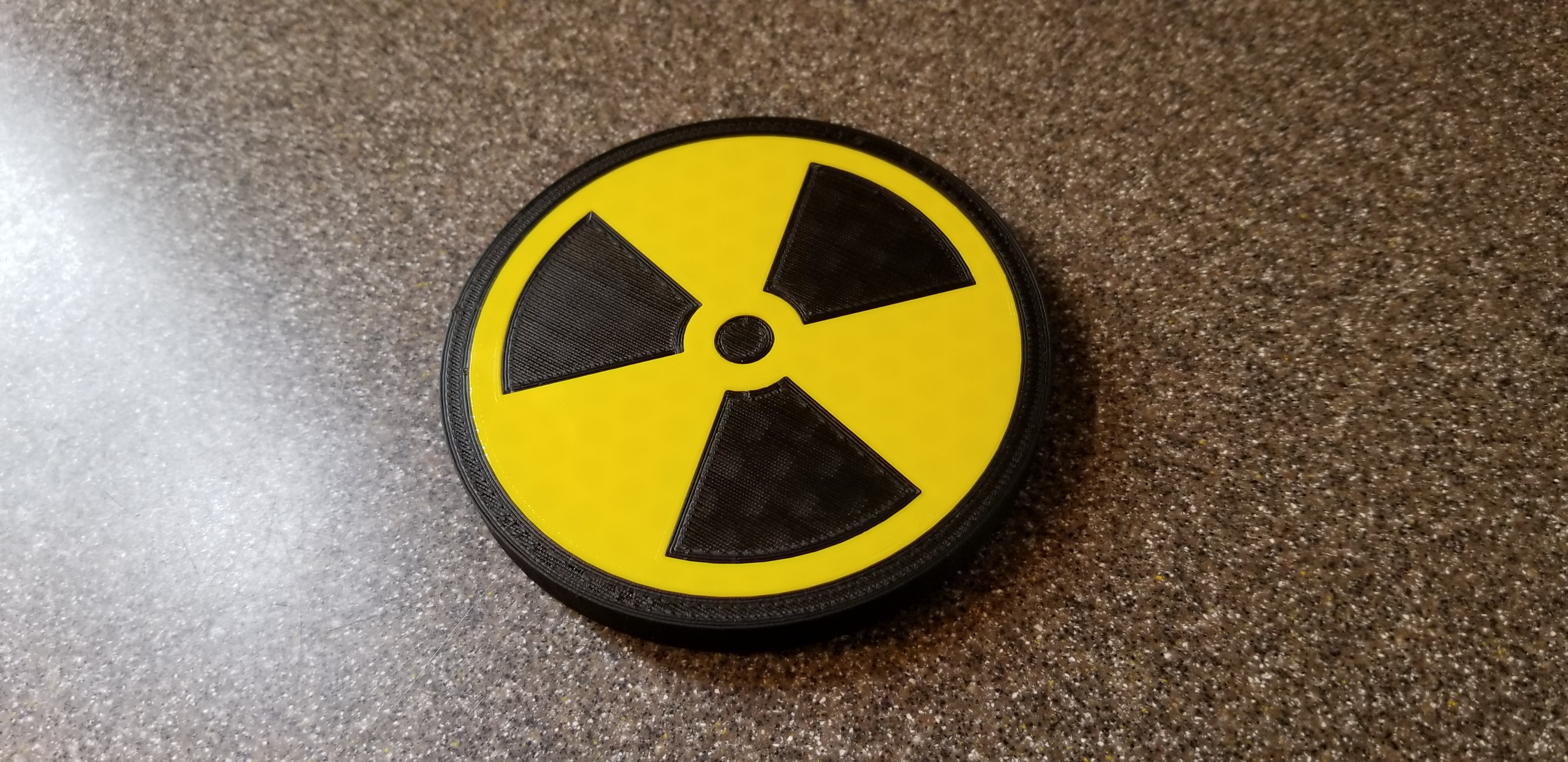 Radiation Drink Coaster