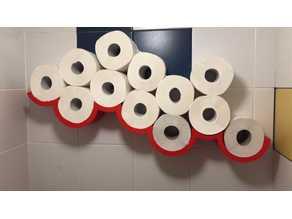 Toiletpaper cloud shelf