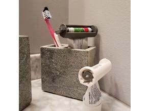 Toothpaste Ratcheting Squeezer