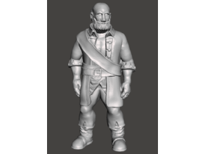 Dexter (Supportless 32mm scale) - Tabletop miniatures