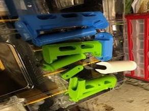 E3D's ToolChanger - detachable spool holder roller bearings