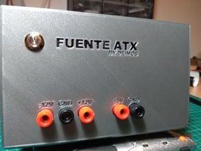 Fuente ATX - Caja alimentación laboratorio