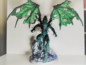Cthulhu - flying pose (split pieces)