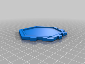 Catan Interlocking Tile Base (no magnets, solid base)