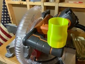 "RIDGID 10"" Miter to 18v Shop Vacuum"