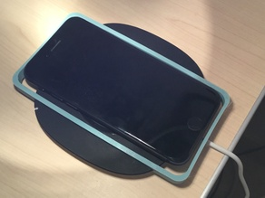 Wireless charger iPhone holder
