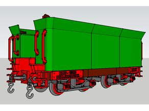 Tender para la locomotora Baldwin