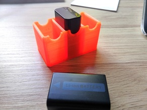 Batterypack-Holder for Sony NP-FW50