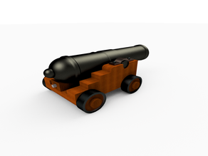 Cannon - DnD - 28mm
