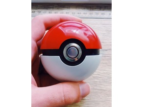 Pokéball with LED button