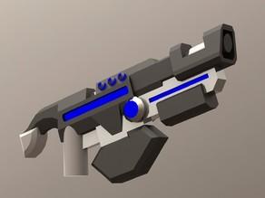 """""""Avangard"""" blaster for Lego minifigures"""