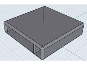 Basic monitor stand