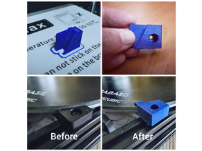 Anycubic Linear Plus Bed + ULTRABASE Clip/Holder