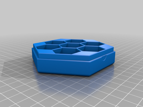 Hexagon Shaped Box with Magnets