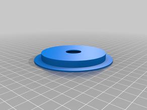 Filament spool bearing holder - parametric