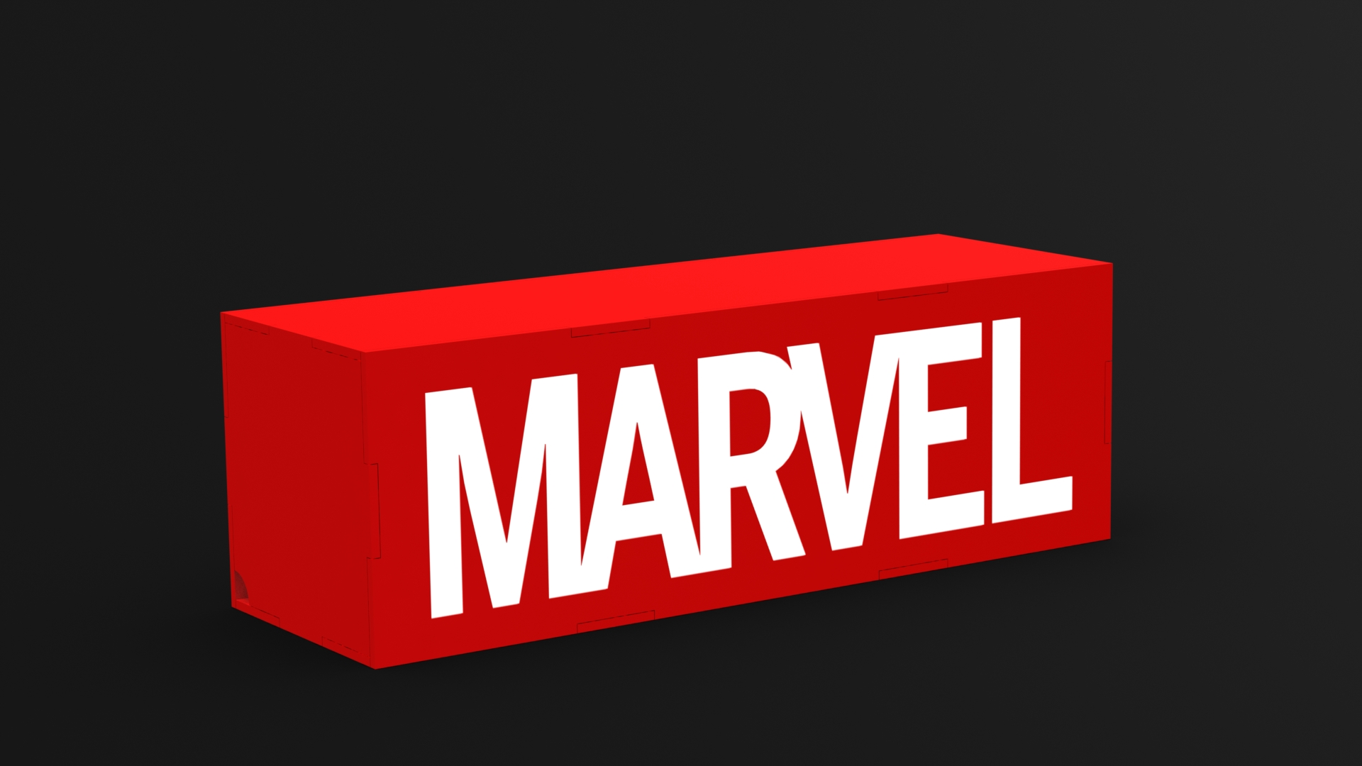 Marvel Light Box