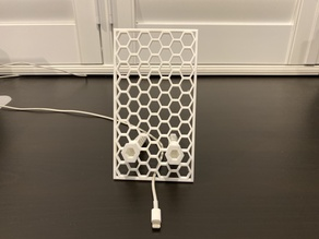 """""""Honeyphone"""" the Honeycomb Phone and Tablet Stand"""