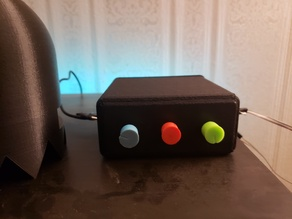 Project box for RGB knobs