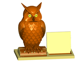 Owl Business Card Holder (Expandable)