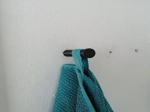 Towel rail / towel hook (IKEA Grundtal)