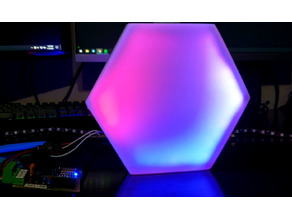 Hexagon Nanoleaf-inspired Pixel Light Panel