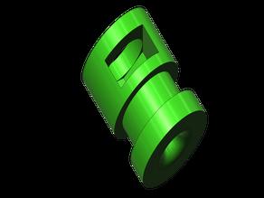 E3d V6 Bowden tube fitting mount adapter