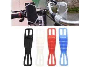 Silicone bike phone holder (test)