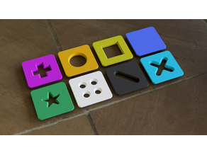 Game Tiles for Abstract Games