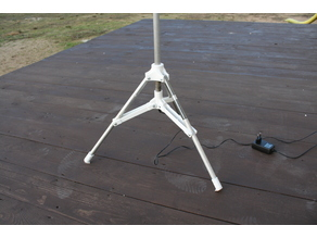 Tripod for halogen