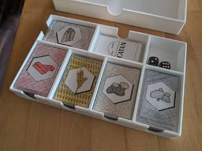 Catan card holder (American mini size)