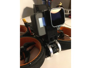 Diatone Taycan mount removable for MADCASE session5 or Hero6