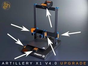 Artillery Sidewinder X1 Upgrade Kit V4.0
