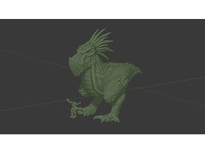 Krooduken Rex, Bird of War