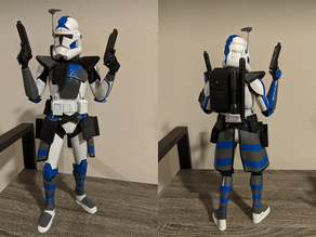 Star Wars: The Clone Wars - ARC Trooper figure