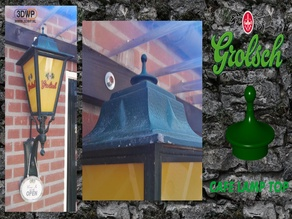 Grolsch Cafe Lamp Top