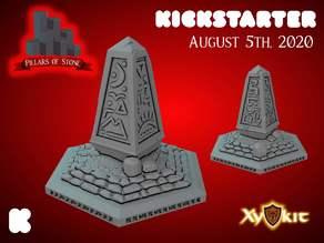 Pillars of Stone - Obelisk