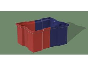 Large Stackable Drawer / Большой штабелируемый ящик