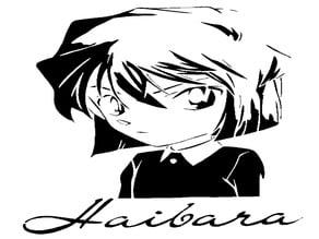 Ai Haibara stencil