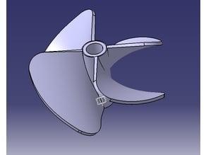 4 Blade Prop 40mm