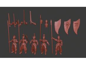 Elf Infatry / Spearmen Miniatures