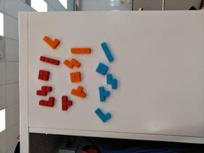 Magnetic Tetris Blocks