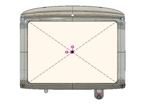 iMac G3 inner bezel