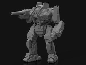 """GDL-Prime Grendel, AKA """"Mongrel"""" for Battletech"""