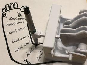 Mechanical Cast Signing Machine