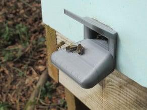 Entrée pour ruchette ; beehive entry
